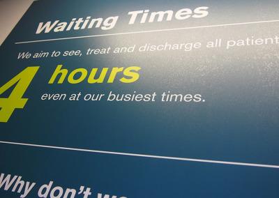 Waiting times panel detail