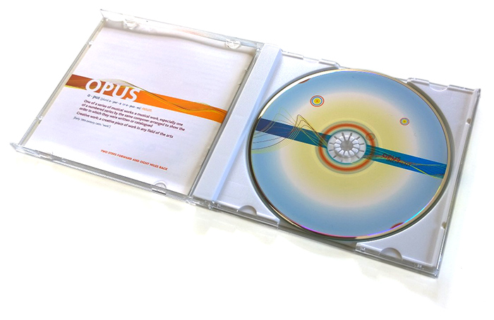 CD Case and Booklet