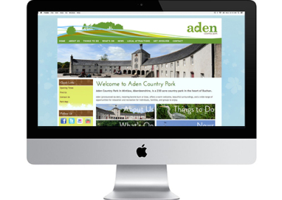Aden Country Park website