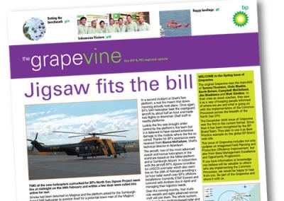 BP – the Grapevine