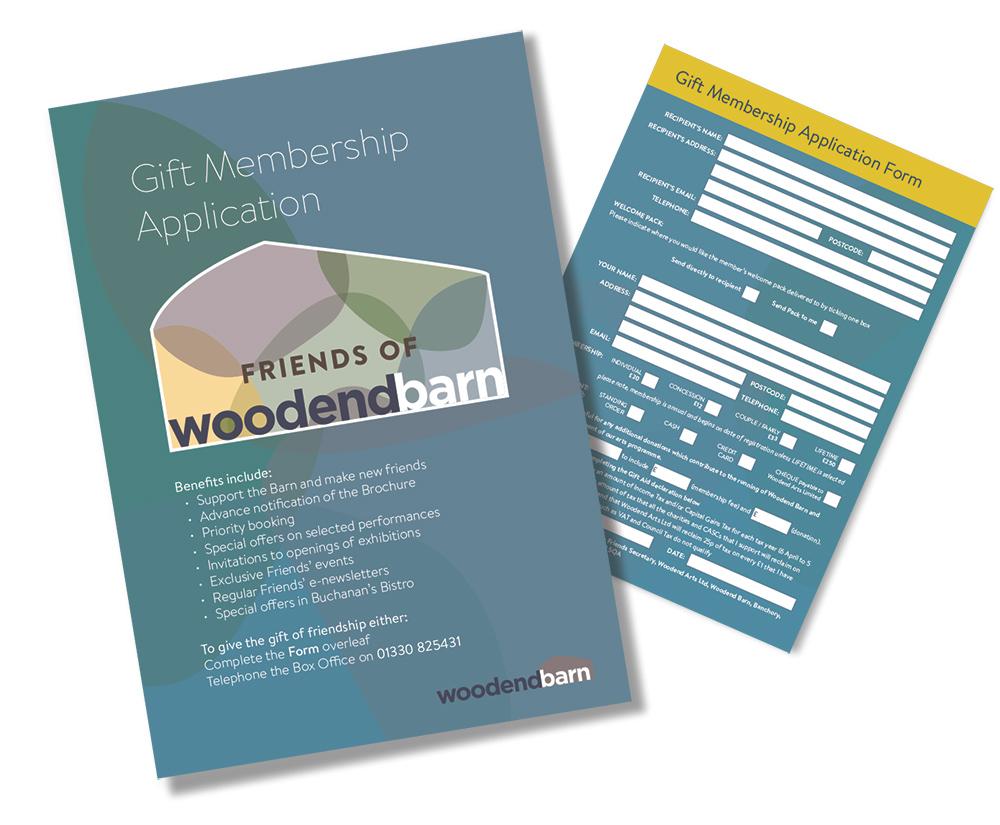 Gift Application leaflet