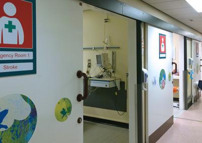 Treatment Room Corridor