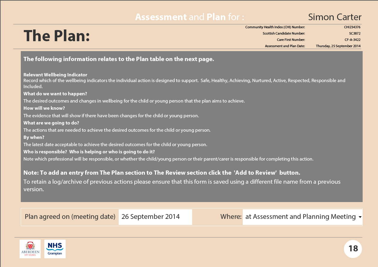 Assessment and Plan: the Plan 1