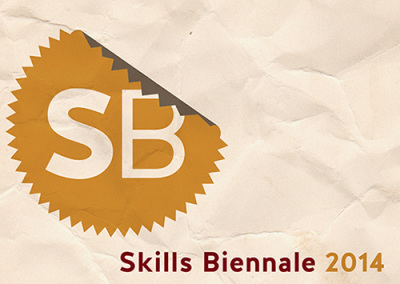 Skills Biennale poster and information leaflet