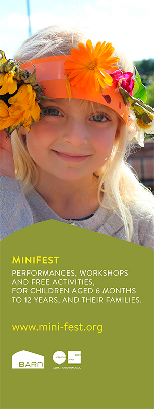 MiniFest vertical banner