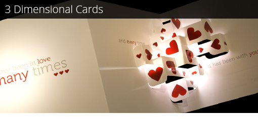 3 Dimensional Cards