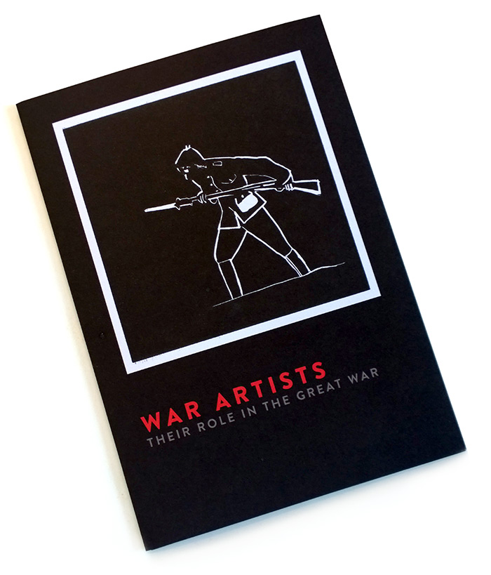 War Artist Lealfet