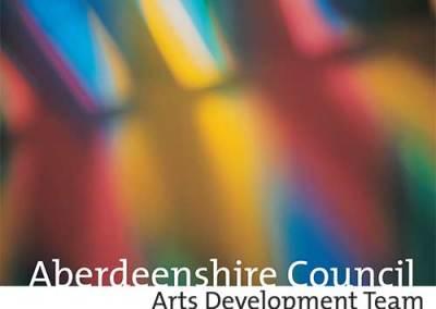 Aberdeenshire Arts Development display panels