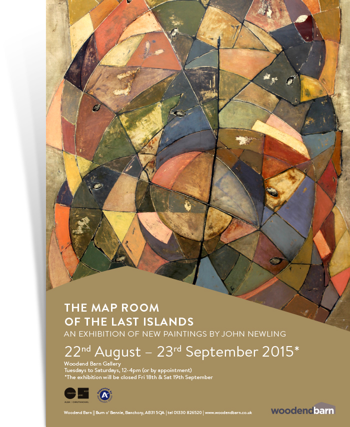 The Map Room of the Last Islands Poster