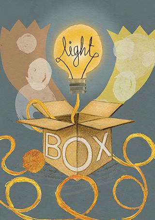 lightbox cover