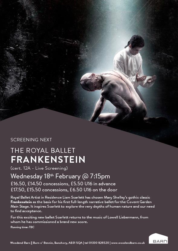 Frankenstein - Royal Ballet