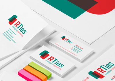 RTies business stationery